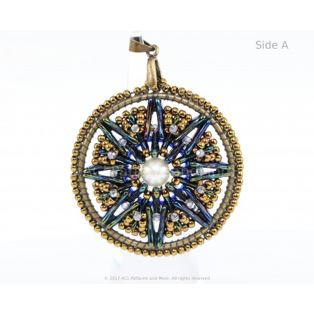 Dream Catcher Pendant Kit - Terra Blue