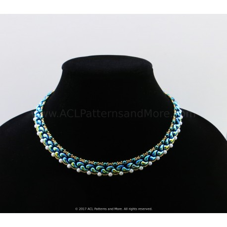 Dalia Necklace PDF Pattern