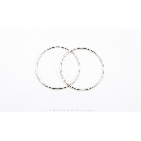 38mm Ring - Silver