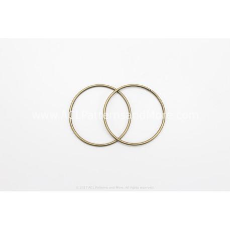 38mm Ring - Brass