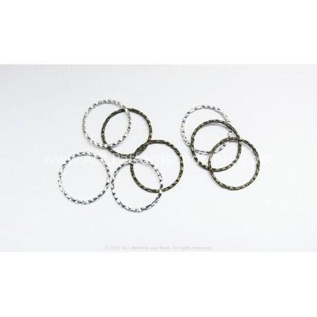 24 mm Brass Rings