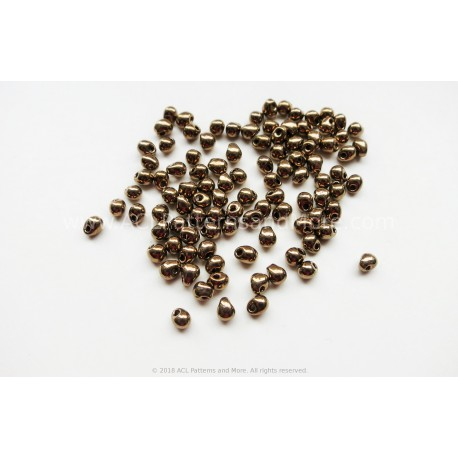 Drop Beads - Bronze