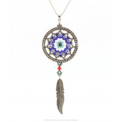 Evil Eye Dream Catcher Pendant Kit