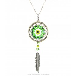 Talisman Dream Catcher Pendant Kit - Green