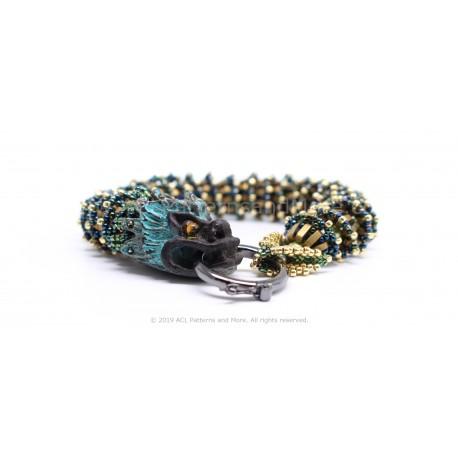 Dragon Bracelet Kit - Gold