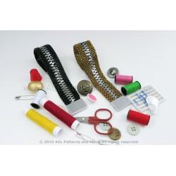 Zipper Bracelet PDF Pattern