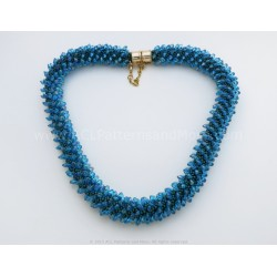 Aqua Necklace PDF Pattern