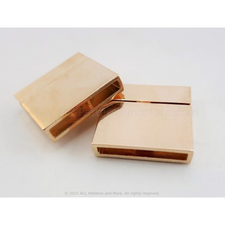 Magnetic Square Clasp - Gold