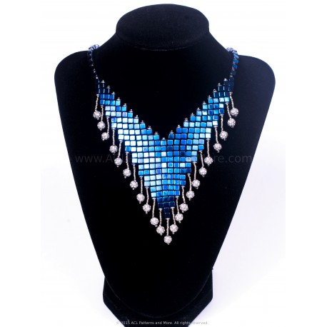 Nefertiti Necklace PDF Pattern