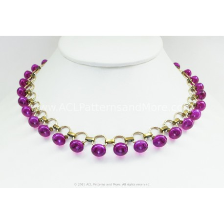 Free Gitana Necklace Video Tutotial