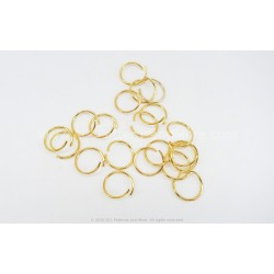 Jump Rings 10mm - Gold
