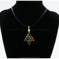 HexA Christmas tree Pendant/Earrings PDF Pattern