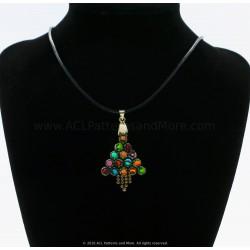 HexA Christmas tree Pendant/Earrings