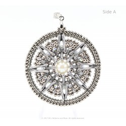 Dream Catcher Pendant Kit - Platinum