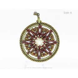 Dream Catcher Pendant Kit - Granate