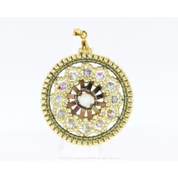 Rose Window Pendant Kit - Golden