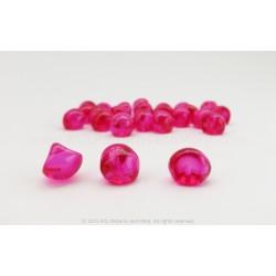 Czech Mushroom Beads - Rosa Borealis