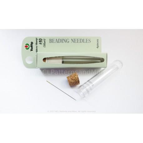 Size 10 Sharp (short) Tulip Beading Needles