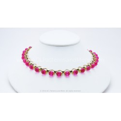 Gitana Necklace Kit - Rosa Borealis