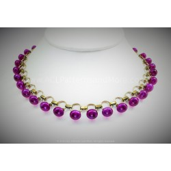 Gitana Necklace Kit - Violeta