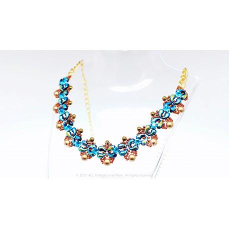 Lupe Necklace Kit - Aqua