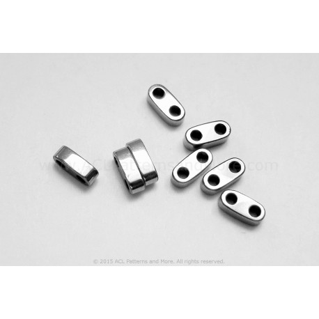 Precision Spacer Beads - Platinum