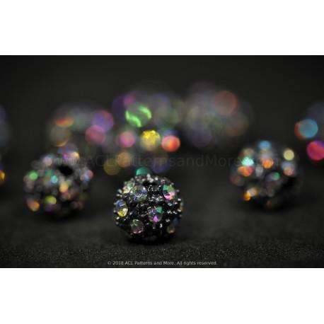Rhinestone Beads - Confetti AB