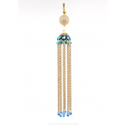 Cascade Tassel Pendant Kit - Midnight Blue