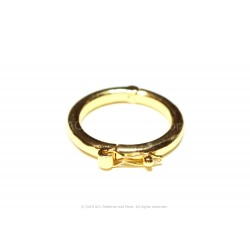 Twister Clasp - Gold