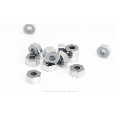 HexA-Two Beads - Platinum