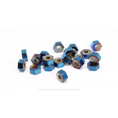HexA-Two Beads - Raspberry
