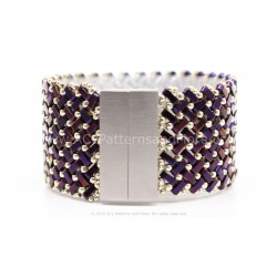 Azteca Bracelet Kit - Raspberry