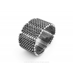 Acordeon Bracelet Kit - Gunmetal