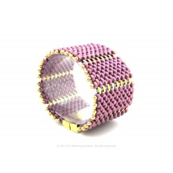 Acordeon Bracelet Kit - Lilac