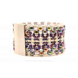Tapestry Bracelet Kit - Wine