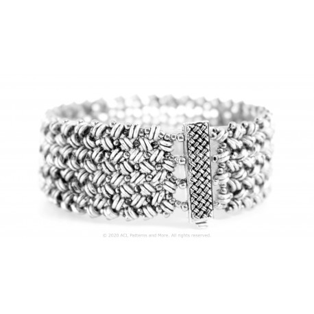 Chainmaille Bracelet - Silver