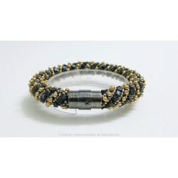 Fantasy Braid Bracelet Kit - Gunmetal