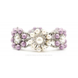 Fatima Bracelet Kit - Dusty Lilac