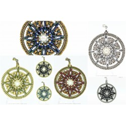 Dream Catcher Pendant PDF Pattern