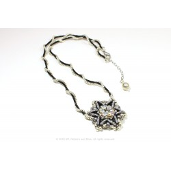 Star Medallion Necklace Kit - Black