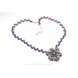 Star Medallion Necklace Kit - Purpura