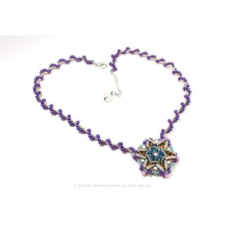 Star Medallion Necklace Kit - Purpura