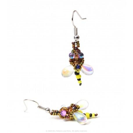 Bee Earrings Kit