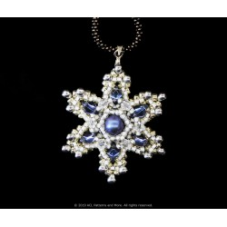 Gem Snowflake Pendant Kit - Azul