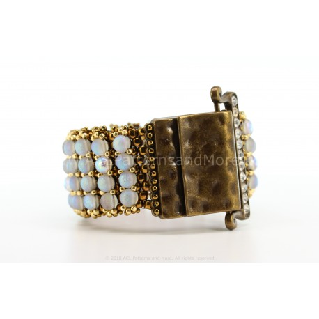 Alegria Bracelet Kit - Etched Crystal