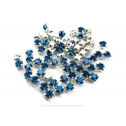 Chaton Montees Blue Zircon