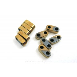 Precision Spacer Beads - Gold