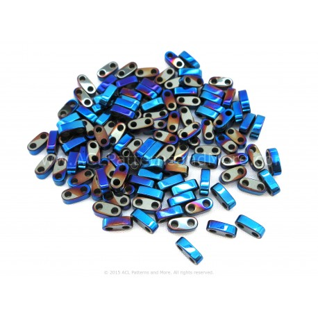 Precision Spacer Beads - Terra Blue