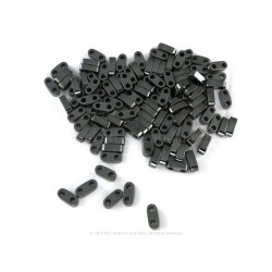 Precision Spacer Beads - Coal