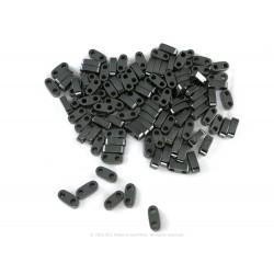Precision Spacer Beads - Coal